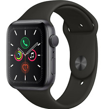 Watch Series 5 (GPS) 44mm Gray Aluminum Case with Black Sport Band