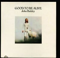 VINYL LP Long John Baldry - Good To Be Alive 1st UK PRESSING NM