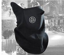 Windproof Scarf Face Mask Skiing Snowboard Fishing Skating Winter outdoors Black