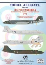 Model Alliance 1/72 BAC/EE Canberra Part 1 # 72139