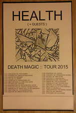 Music Poster Promo Health ~ Death Magic Tour