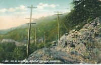 READING PA – Car on Neversink Mountain Railroad near Reading - 1910