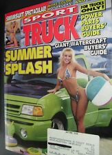 SPORT TRUCK MAGAZINE July 1994 article on cars and  SWIMSUIT SPECTACULAR