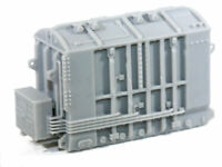 HO Scale Hamilton High Voltage Transformer Base Model Railroad Flatcar Load