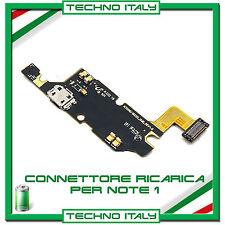 FLEX FLAT CAVO CONNETTORE ALIMENTAZIONE RICARICA MICROFONO SAMSUNG NOTE 1 N7000