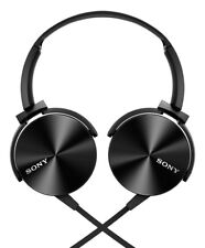 Sony MDRXB450AP Extra Bass Smartphone Headset - Black - Excellent Condition