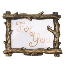 Gold Photo Frame Branch Shape Vintage Theme Home Decor Birthday Wedding Gift