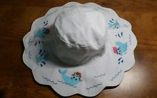 New With Tags Gymboree Embroidered Sun Hat 4T-5T