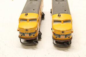 vintage LIONEL TRAIN LOT: two 2023 UNION PACIFIC DIESEL ENGINES locomotive
