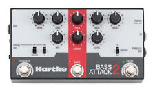 NEW Hartke Bass Attack 2 Preamp Direct Box with Overdrive
