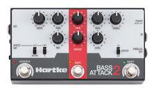 Neuer Hartke Bass Attack 2 Preamp Direct Box mit Overdrive