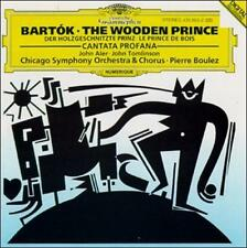 Béla Bartók: Cantata Profana; The Wooden Prince (CD, Feb-1993, DG Deutsche...