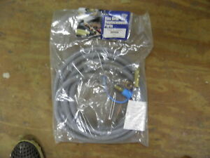 """12 Feet 1/2 inch ID Natural Gas Hose, Quick Connect Fittings with 5/8"""" Female"""