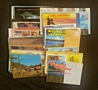 Vintage Lot of Odd Sized Postcards, Booklets, Cards and More
