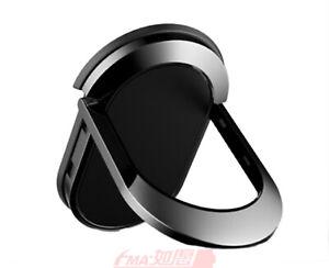 Tablet PC iPad Mobile phone Fix Bracket Mount Holder Metal Ring Magnetic Ellipse