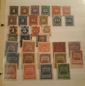 United states Telegraph & Cable Stamps Fantastic Group of 33 Different Very...