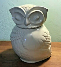 "Antique Owl cookie jar10"""