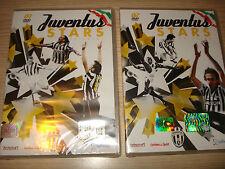 2 DVD SEALED FC JUVENTUS STARS LE 50 STELLE DELLA JUVENTUS JUVE DEL PIERO SIVORI