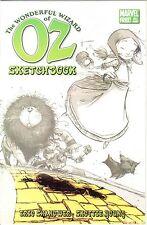 WONDERFUL WIZARD OF OZ SKETCHBOOK 0 PROMO GIVEAWAY 2008 RARE PROMOTIONAL MARVEL