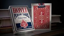 2 Decks Hoyle POKER Official Playing Cards Red Blue Regular Index