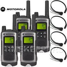 10 Km Motorola TLKR T80 Walkie Talkie Radio De Dos Vías Esquí & Go Karting Quad Pack