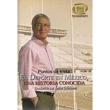 Puntos De Vista El Deporte En Mexico DVD NEW Javier Solorzano Factory Sealed!