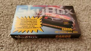 1994 Skybox Premiere Edition 27-Card Factory Set - Earnhardt Gordon NASCAR
