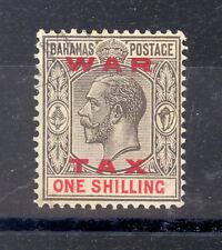 BAHAMAS SG 104 1919 WAR TAX OVERPRINT FINE USED