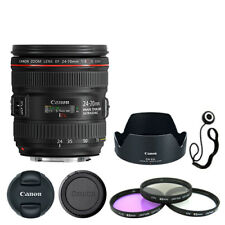 Canon Ef 24-70mm f/4L Is Usm Lente + Kit De Acessórios De Luxo