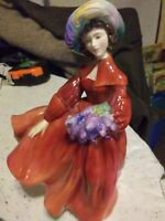ROYAL DOULTON Lilac Time HN2137 - Retired 1969 - Peggy Davies Classic