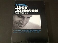 JACK JOHNSON AND FRIENDS (  DVD  )  A WEEKEND AT THE GREEK  LIVE IN JAPAN