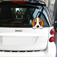 Cute Little Beagle Dog Car Sticker Lovely Puppy Pet Car Window Rear Vinyl Decal