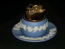 Vintage Wedgwood made in England/Japan Lighter and Ashtray.