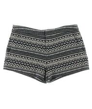 $150 Joie Intermix Anthropologie Blue Print Woven Jacquard Merci Shorts 4