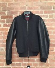 NWT DSQUARED2 Men's Bomber Jacket Black sz 52 Italy 42 US Large