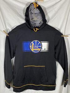 Adidas Golden State Warriors NBA Sweatshirt Hoodie Medium Black