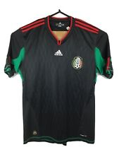 Mexico 2010 World Cup Adidas ClimaCool Jersey Men's Size XL Black S/S Soccer EUC