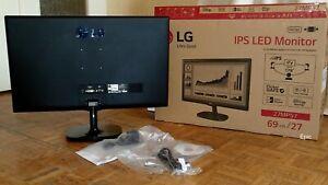 LG 27MP57 , IPS , Ecran Informatique , FHD , HDMI , VGA , DPort ,  Neuf