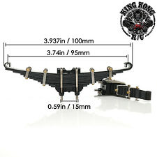 Front Leaf Spring for 1/12 RC Soviet ZIS-150/151/CA10 Truck/ 1/14 Tamiya Tractor