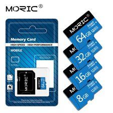 Card Memory SD Micro TF 256gb 128gb 64gb 32gb Class10 Ultra Adapter SD Card Lot