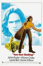 TWO-LANE BLACKTOP (DVD) DRAMA JAMES TAYLOR