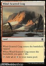 WIND-SCARRED CRAG Khans of Tarkir Magic The Gathering MTG cards (GH)