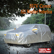 SUV Van Outdoor Cover Full Waterproof Breathable UV Dust Sun Rain& Scratch Proof
