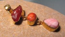 Carnelian Yellow Gold Natural Fine Necklaces & Pendants