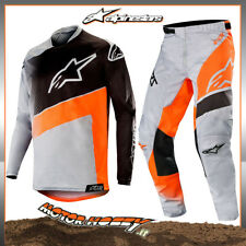 COMPLETO CROSS ENDURO ALPINESTARS RACER SUPERMATIC 2019 GRIGIO ARANCIO 36 - XL