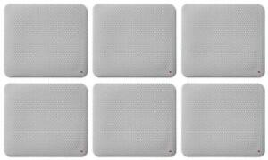 """3M Precise Mouse Pad, Enhances the Precision of Optical Mice, 9"""" x 8"""", 6-Pack"""