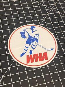 WHA World Hockey Association logo Decal Sticker FREE SHIPPING