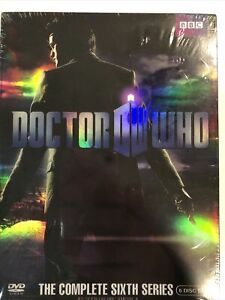 Dr Who The Complete Sixth Series 6 US Region 1 Matt Smith 6 Disc Original Sealed