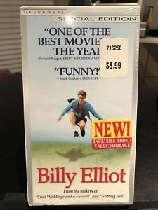 BILLY ELLIOT: SPECIAL EDITION (VHS, 2000) JAMIE BELL, JULIE WALTERS, DALDRY, BBC