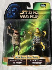 Star Wars Power of the Force Max Rebo Band Pairs Joh Yowza and Sy Snootles